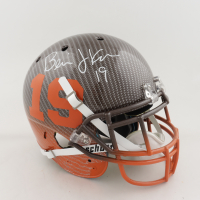 Bernie Kosar Signed Full-Size Authentic On-Field Hydro Dipped Helmet (Beckett COA) (See Description) at PristineAuction.com
