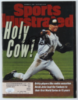 Derek Jeter Signed 1996 Sports Illustrated Magazine (JSA COA) at PristineAuction.com