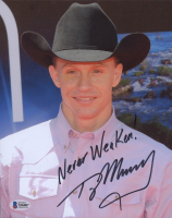 "Ty Murray Signed 8x10 Photo Inscribed ""Never Weaken!"" (Beckett COA) at PristineAuction.com"