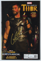 "Chris Hemsworth Signed 2017 ""Thor"" Issue #700 Comic Book (JSA COA) at PristineAuction.com"