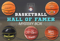 Schwartz Sports Basketball Hall of Famer Signed Basketball Mystery Box - Series 3 (Limited to 75) (Pristine Exclusive Edition) at PristineAuction.com