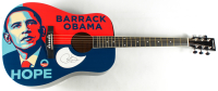 Barack Obama Signed Acoustic Guitar (JSA ALOA) at PristineAuction.com