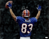 Andre Reed Signed Bills 16x20 Photo (JSA COA) at PristineAuction.com