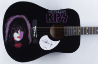 KISS Set of (4) Full-Size Acoustic Guitars signed by Gene Simmons, Ace Frehley, Peter Criss & Paul Stanley (JSA COA & PSA COA) at PristineAuction.com