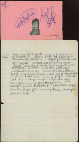 The Rolling Stones Set of (2) Loose Papers Signed By (5) with Brian Jones, Keith Richards, Mick Jagger, Bill Wyman, & Charlie Watts (JSA LOA) at PristineAuction.com