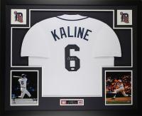 Al Kaline Signed 35x43 Custom Framed Jersey Display (JSA COA) at PristineAuction.com