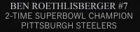 Ben Roethlisberger Signed Steelers 35x43 Custom Framed Jersey Display (Fanatics Hologram) at PristineAuction.com