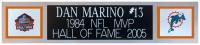 Dan Marino Signed 35x43 Custom Framed Jersey Display (JSA COA) at PristineAuction.com