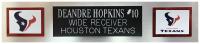 DeAndre Hopkins Signed 35x43 Custom Framed Jersey Display (JSA COA) at PristineAuction.com