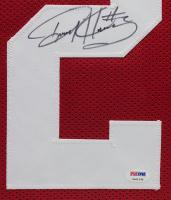 Derrick Henry Signed 35x43 Custom Framed Jersey Display (PSA COA) at PristineAuction.com
