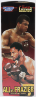 1998 Ali VS. Frazier Vintage XL Size Action Figures with Robes In Original Box at PristineAuction.com