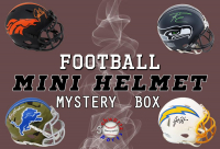 Schwartz Sports Football Signed Mini Helmet Mystery Box - Series 28 - (Limited to 150) at PristineAuction.com