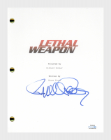 "Richard Donner Signed ""Lethal Weapon"" Movie Script (AutographCOA COA) at PristineAuction.com"