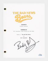 "Billy Bob Thornton Signed ""The Bad News Bears"" Movie Script (AutographCOA COA) at PristineAuction.com"
