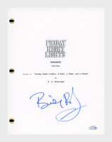 "Billy Bob Thornton Signed ""Friday Night Lights"" Movie Script (AutographCOA COA) at PristineAuction.com"