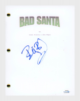 "Billy Bob Thornton Signed ""Bad Santa"" Movie Script (AutographCOA COA) at PristineAuction.com"