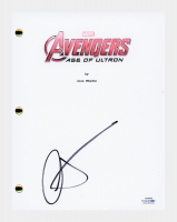 "Aaron Taylor-Johnson Signed ""Avengers: Age of Ultron"" Movie Script (AutographCOA COA) at PristineAuction.com"