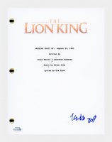 "Matthew Broderick Signed ""The Lion King"" Movie Script (AutographCOA COA) at PristineAuction.com"