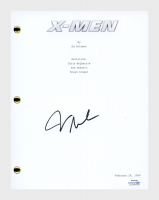 "James Marsden Signed ""X-Men"" Movie Script (AutographCOA COA) at PristineAuction.com"