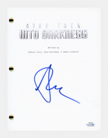 "Alice Eve Signed ""Star Trek Into Darkness"" Movie Script (AutographCOA COA) at PristineAuction.com"