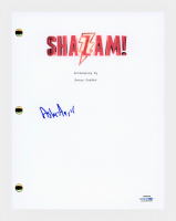 "Asher Angel Signed ""Shazam"" Movie Script (AutographCOA COA) at PristineAuction.com"