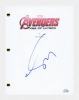 "Claudia Kim Signed ""Avengers: Age of Ultron"" Movie Script (AutographCOA COA) at PristineAuction.com"