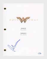 "Patty Jenkins Signed ""Wonder Woman"" Movie Script (AutographCOA COA) at PristineAuction.com"
