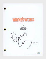 "Dana Carvey Signed ""Wayne's World"" Movie Script (AutographCOA COA) at PristineAuction.com"
