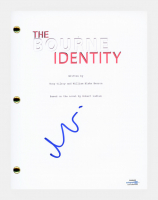 """Matt Damon Signed """"The Bourne Identity"""" Movie Script (AutographCOA COA) at PristineAuction.com"""