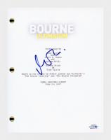 """Matt Damon Signed """"The Bourne Ultimatum"""" Movie Script (AutographCOA COA) at PristineAuction.com"""