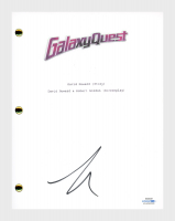"Tim Allen Signed ""Galaxy Quest"" Movie Script (AutographCOA COA) at PristineAuction.com"