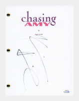 """Kevin Smith Signed """"Chasing Amy"""" Movie Script (AutographCOA COA) at PristineAuction.com"""