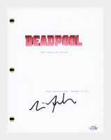 "Tim Miller Signed ""Deadpool"" Movie Script (AutographCOA COA) at PristineAuction.com"