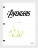 """Mark Ruffalo Signed """"The Avengers"""" Movie Script (AutographCOA COA) at PristineAuction.com"""