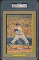 Mickey Mantle Signed LE 1987 Perez-Steele Great Moments #19 Card (PSA Encapsulated) at PristineAuction.com