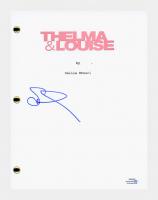 """Susan Sarandon Signed """"Thelma & Louise"""" Full Movie Script (AutographCOA COA) at PristineAuction.com"""