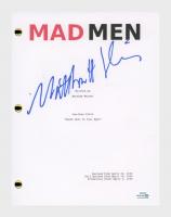 "Matthew Weiner Signed ""Mad Men"" Pilot Episode Script (AutographCOA COA) at PristineAuction.com"