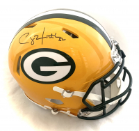 Clay Matthews III Signed Packers Full-Size Authentic On-Field Speed Helmet (JSA COA) at PristineAuction.com
