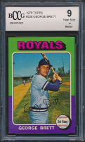 George Brett 1975 Topps #228 RC (BCCG 9) at PristineAuction.com