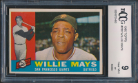 Willie Mays 1960 Topps #200 (BCCG 9) at PristineAuction.com