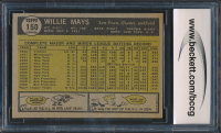 Willie Mays 1961 Topps #150 (BCCG 9) at PristineAuction.com