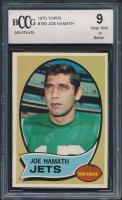1970 Topps #150 Joe Namath (BCCG 9) at PristineAuction.com