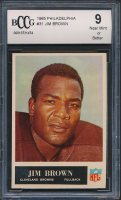 1965 Philadelphia #31 Jim Brown (BCCG 9) at PristineAuction.com
