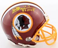 "Joe Theismann Signed Redskins Mini Helmet Inscribed ""83 MVP"" (JSA COA) at PristineAuction.com"