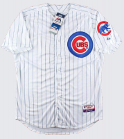 """Kris Bryant Signed Cubs Majestic Jersey Inscribed """"2016 WS Champs, """"2016 NL MVP"""" & """"Fly The W"""" (Fanatics Hologram & MLB Hologram) at PristineAuction.com"""