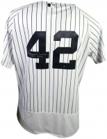 "Mariano Rivera Signed Yankees Jersey Inscribed ""HOF 2019"" (Steiner Hologram) at PristineAuction.com"