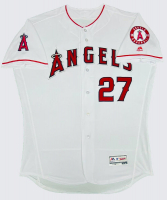 "Mike Trout Signed Angels LE Jersey Inscribed ""14, 16 AL MVP"" (Steiner Hologram) at PristineAuction.com"
