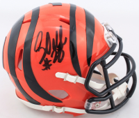 Corey Dillon Signed Bengals Speed Mini Helmet (Schwartz COA) at PristineAuction.com