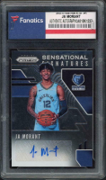 Ja Morant 2019-20 Panini Prizm Sensational Signatures #69 (Fanatics Encapsulated) at PristineAuction.com