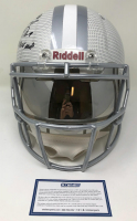 """Drew Brees Signed Saints Full-Size Authentic On-Field Hydro-Dipped Speed Helmet Inscribed """"SB XLIV MVP"""" (Steiner Hologram) at PristineAuction.com"""